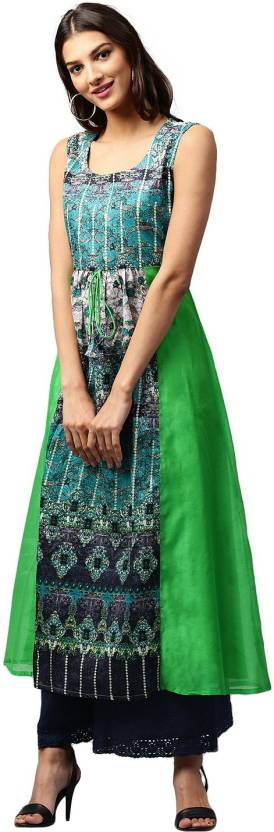 Libas Abstract Women's A-line Kurta
