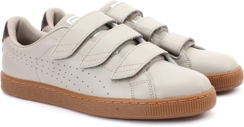 fd6c76de84ee Puma Basket Classic Strap CITI Sneakers For Men - Buy VINTAGE KHAKI ...