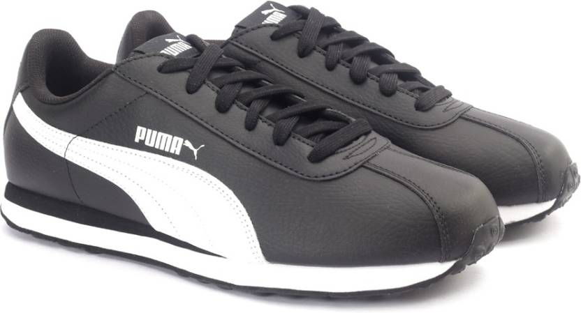 2e8d42b99cd8 Puma Turin Sneakers For Men - Buy Black-White Color Puma Turin ...