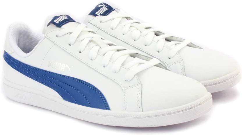 e291b9e7c981 Puma Smash L Sneakers For Men - Buy PUMA WHITE-TRUE BLUE Color Puma ...