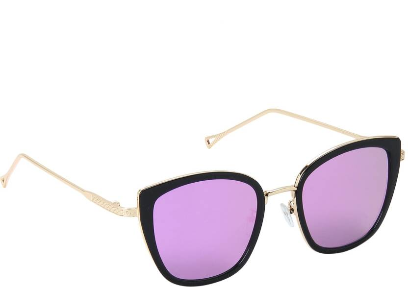 174ab7623f7 Buy Thingalicious Retro Square Sunglasses Pink For Women Online ...