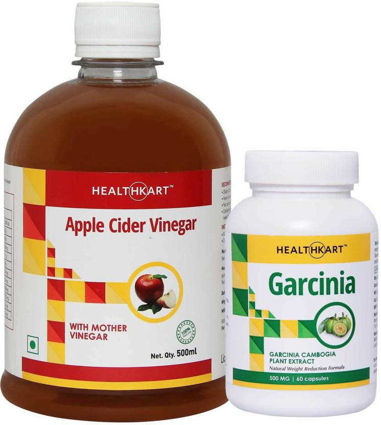 Healthkart Apple Cider Vinegar With Mother Vinegar Garcinia