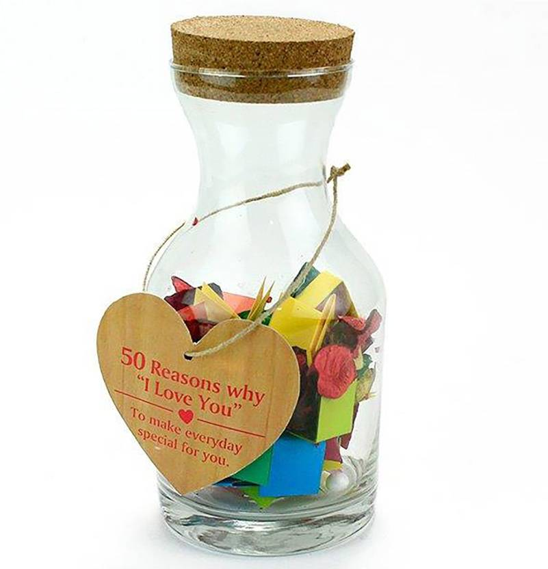 Archies Token Of Love 50 Message quotes Bottle For Loved One