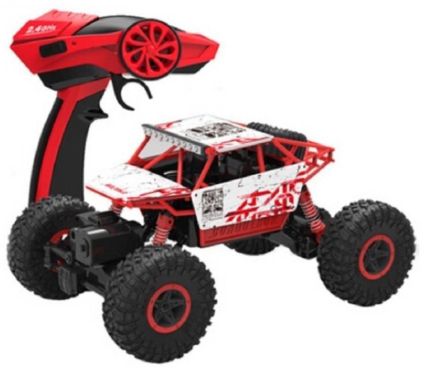 Oddeven Rock Monster Crawler 1 18 Scale With 4wd Rally Car Toys For