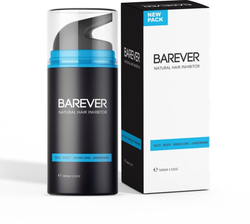 Barever Natural Hair Inhibitor Cream