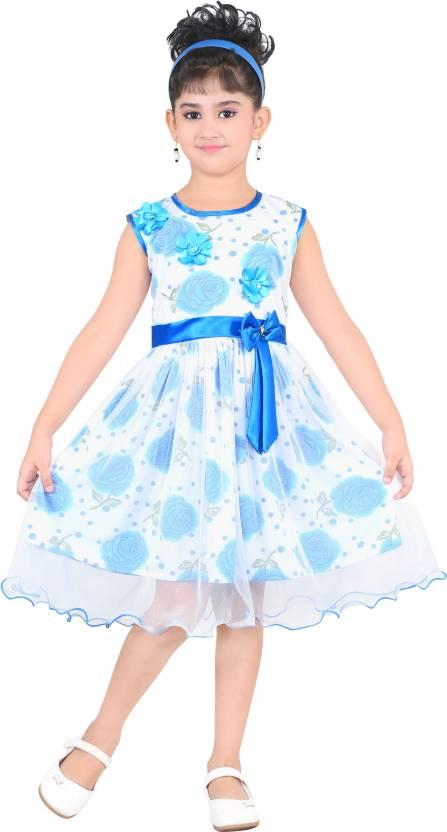 61d937cd4 FTC Bazar Girls Midi Knee Length Party Dress Price in India - Buy ...