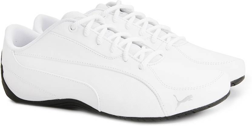 Puma Drift Cat 5 Core Sneakers For Men - Buy Puma White Color Puma ... aeb35be52