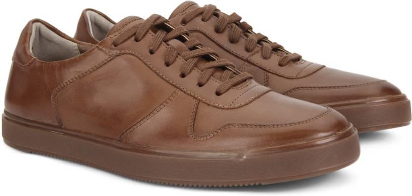 Clarks Calderon Speed Tan Leather W1nZiI