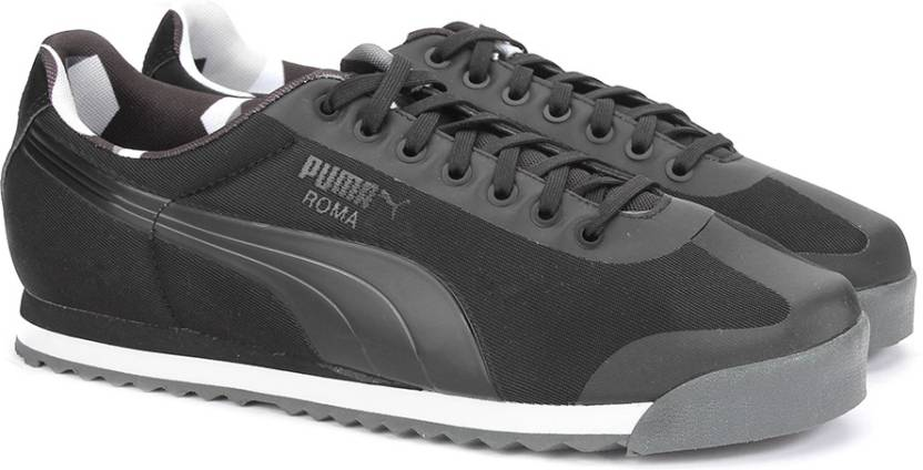 Puma Roma Basic Geometric Camo Sneakers For Men - Buy Puma Black ... b223b7371
