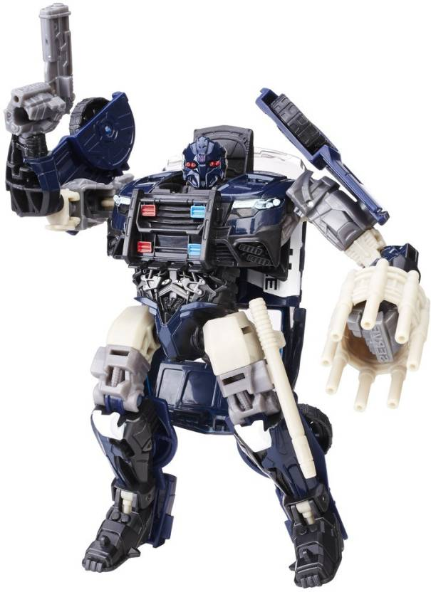 95cd9aa6f2bc83 Transformers The Last Knight Premier Edition Deluxe Barricade (Multicolor)