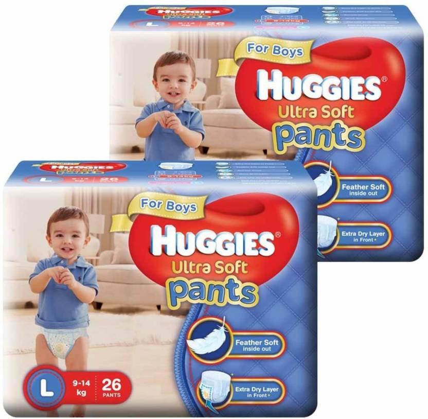 Huggies Ultra Soft Pants For Boys - L