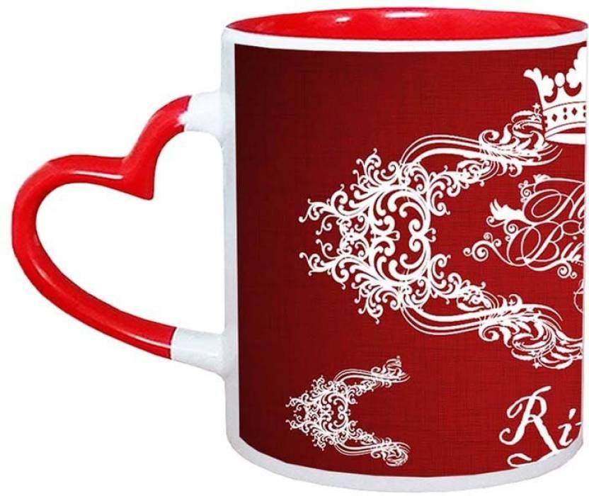 muggies magic ritesh happy birthday name design 11oz ceramic mug