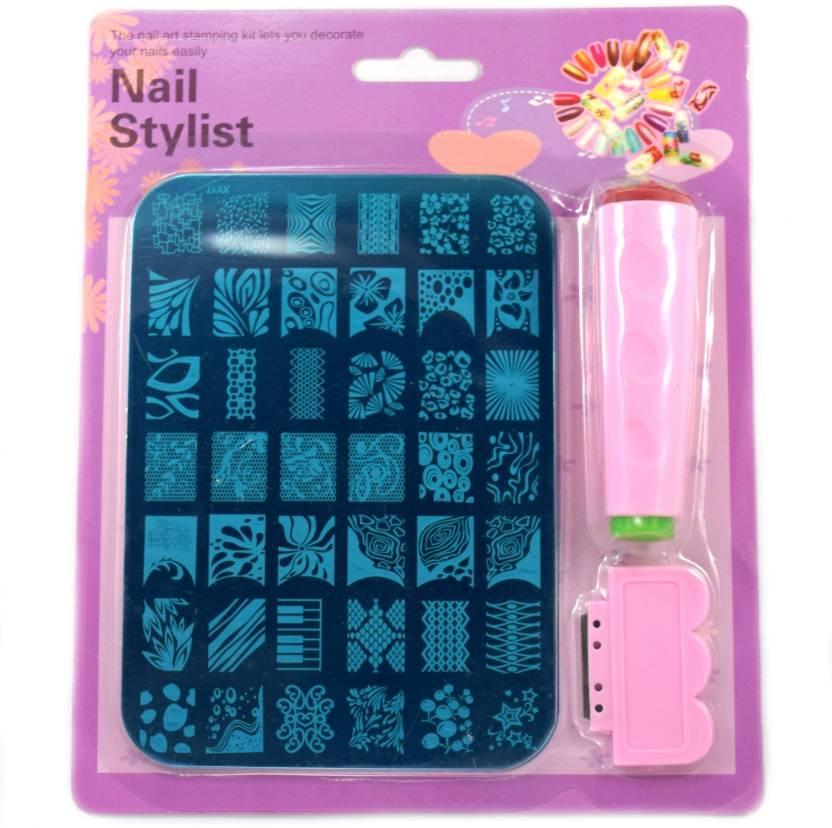 Savni nail art stamping stamp kit for women - Price in India, Buy ...