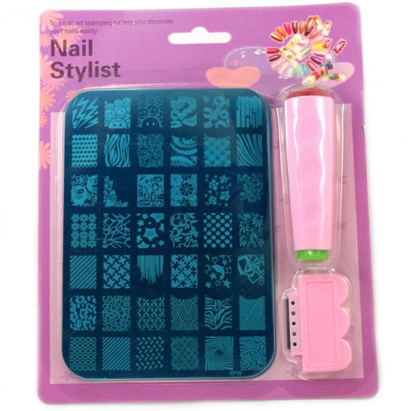 Savni Nail Art Stamping Stamp Kit For Women Xy 15 Price In India
