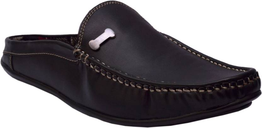 d37fa33b2600 Woxer BACK OPEN SHOES Loafers For Men - Buy Woxer BACK OPEN SHOES ...
