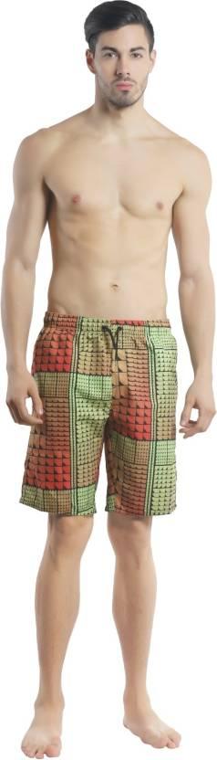 dbceaedc24 Speedo Printed Men's Black Swim Shorts - Buy Black/Watermelon Speedo ...