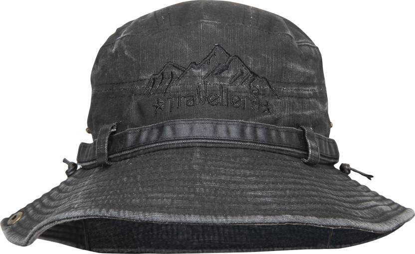 382aaec20b9 FabSeasons Solid Foldable Washed Cotton Bucket Hat Cap - Buy ...