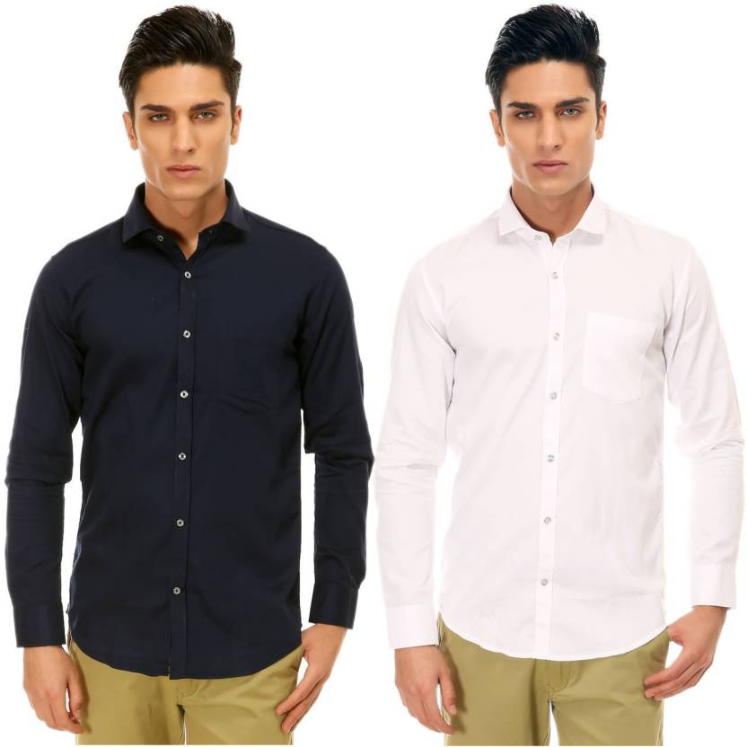 1621e0506f50 Variksh Men s Self Design Casual Club Shirt - Buy Variksh Men s Self ...