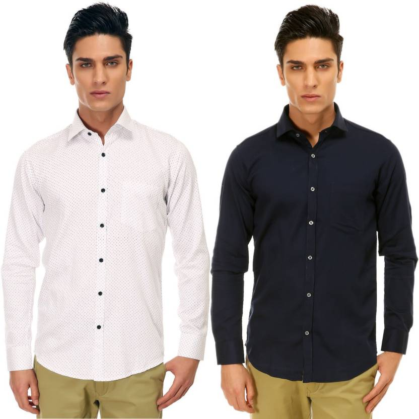 5b03d1524877 Variksh Men s Printed Casual Club Shirt - Buy Variksh Men s Printed ...