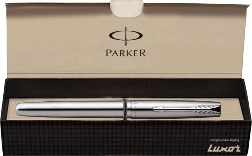 Parker Frontier Stainless Steel CT Roller Ball Pen