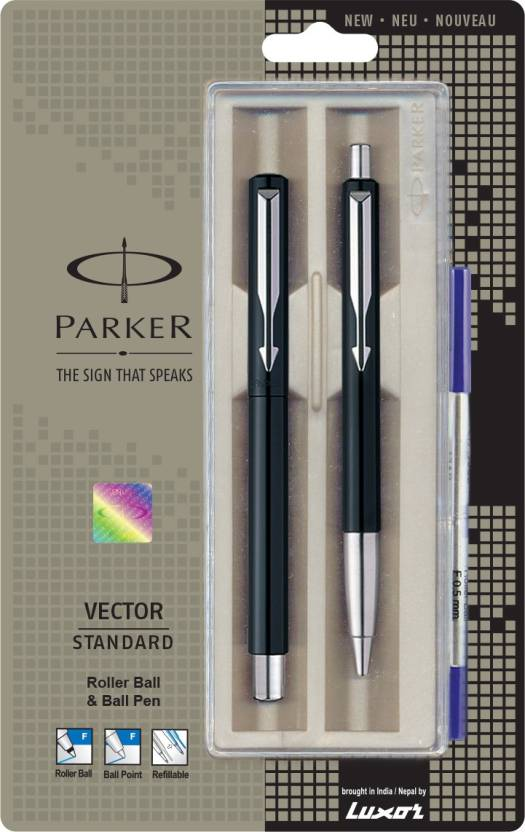 Parker Vector Standard CT Pen Gift Set