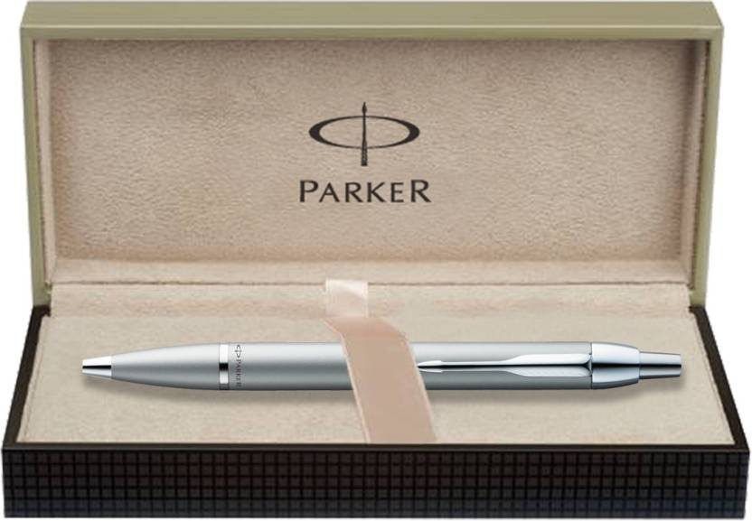 Parker IM Metal Silver CT Ball Pen