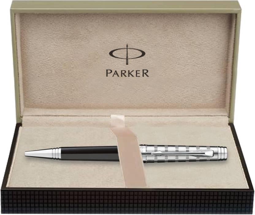 Parker Premier Cust Tartan ST Ball Pen