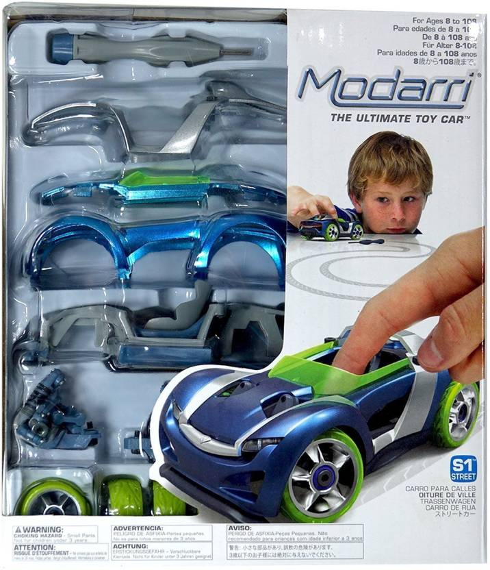 Modarri S1 Street Car Single - Build Your Car Kit Toy Set - Ultimate toy Car