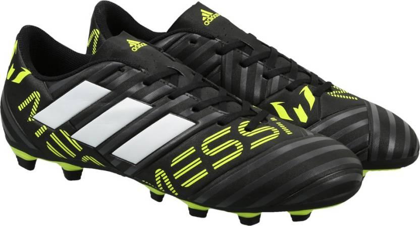 1f94cf248 ADIDAS NEMEZIZ MESSI 17.4 FXG Football Shoes For Men - Buy CBLACK ...
