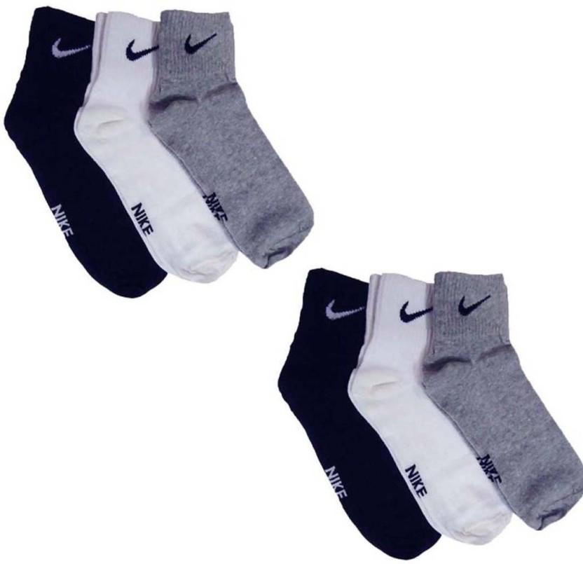 Nike Des Femmes Des Hommes Chaussettes Longueur Cheville Solide photos de réduction limité la sortie offres HybbU6