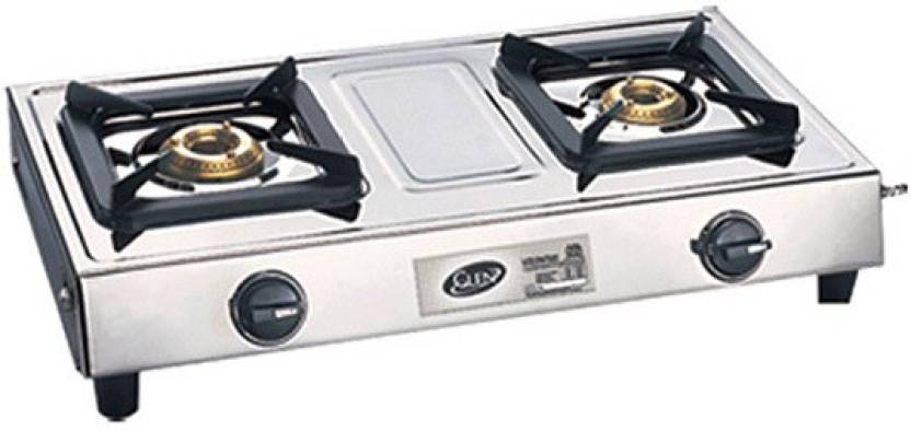 Glen Gl 1023 Ssbb Cooktop Stainless Steel Manual Gas Stove