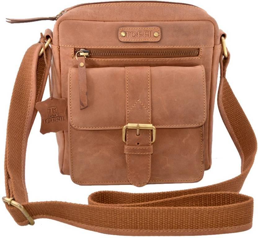 Toffil Sandy Brown Side Bag Shoulder