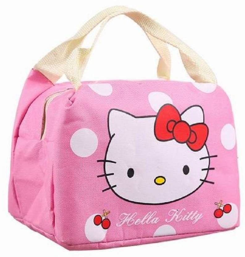 Oosme Hello Kitty Thermal Lunch Box Bag Waterproof Lunch Bag (Pink 8d50c0b05bc19