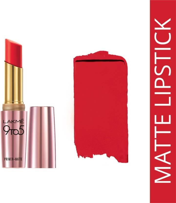 Lakme 9 to 5 Primer + Matte Lip Color