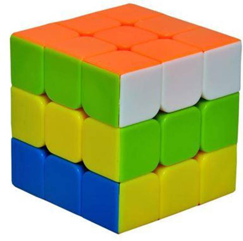 ifrazon high quality sticker less 3x3 rubix cube high quality