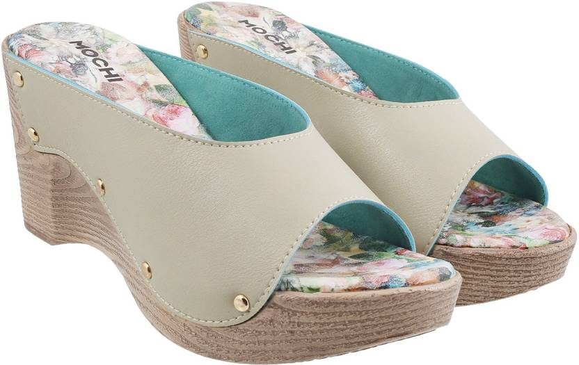 3e75cada34 Mochi Women 20,Beige Wedges - Buy Mochi Women 20,Beige Wedges Online at Best  Price - Shop Online for Footwears in India | Flipkart.com