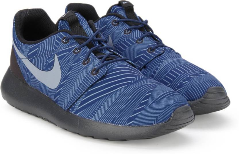 6a66bd28fed5 Nike ROSHE ONE PRINT Sneakers For Men - Buy Blue Color Nike ROSHE ...