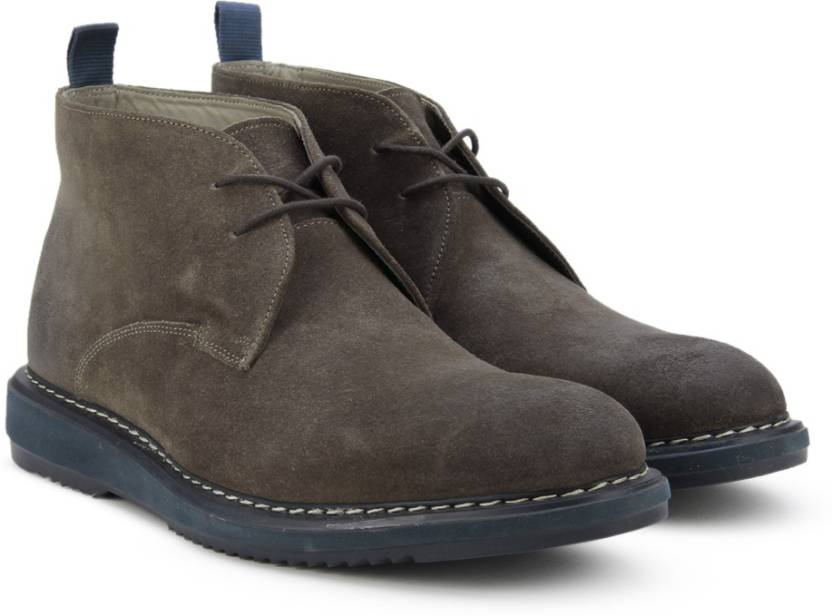 meet pretty cheap best place Clarks Kenley Mid Mushroom Sde Lace Up For Men