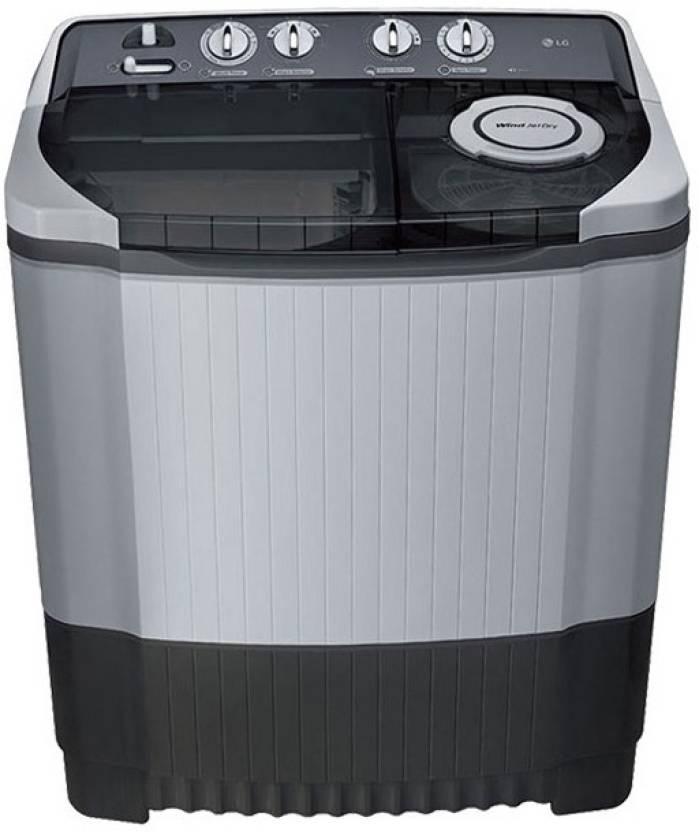 LG 8.5 kg Semi Automatic Top Load Washing Machine Grey on sale
