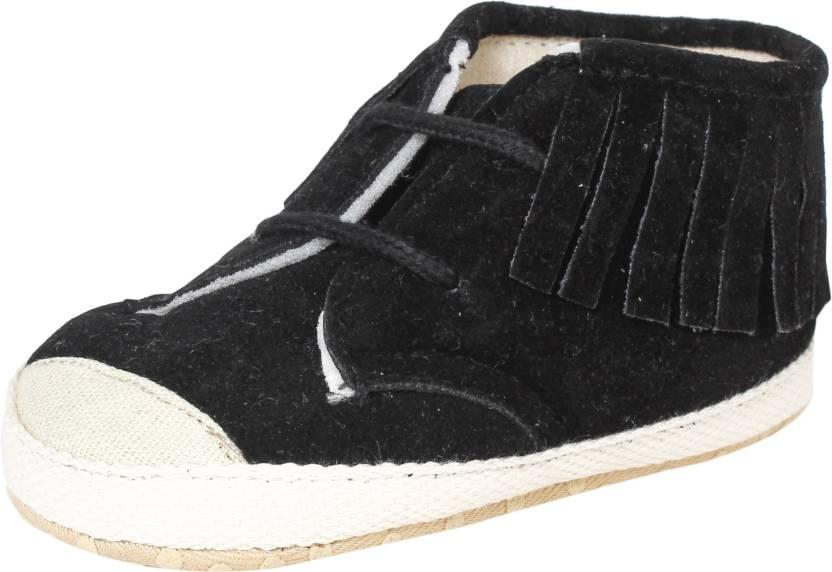 Abdc Kids Boys Lace Derby Shoes Black