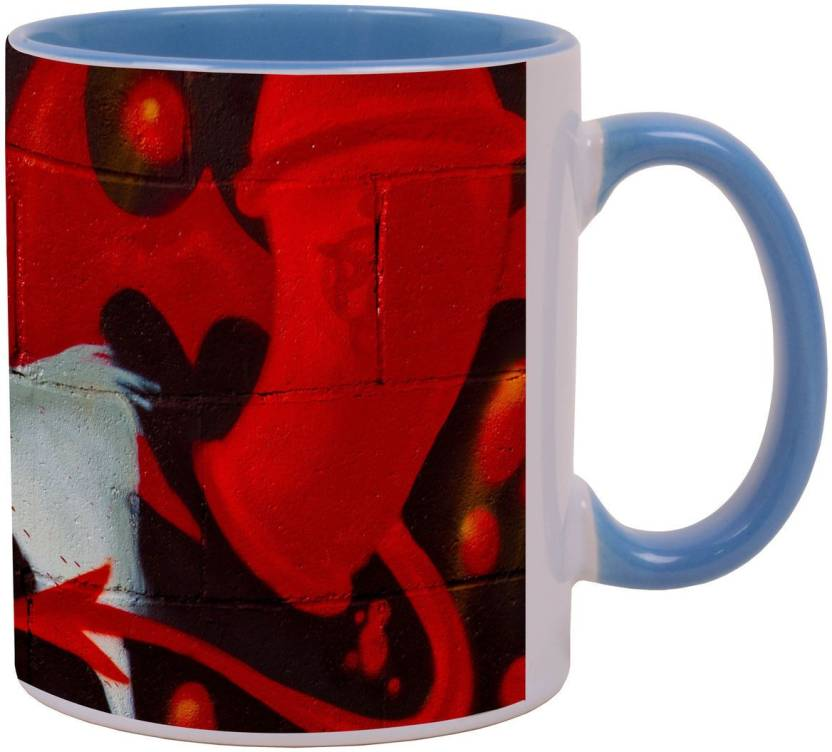 Arkist Spray Paint Cans Graffiti Ceramic Mug Price In India Buy