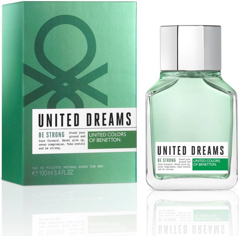 72fbf077e United Colors of Benetton United Dreams Be Strong EDT Perfume for Men 100ml  Eau de Toilette - 100 ml (For Men)