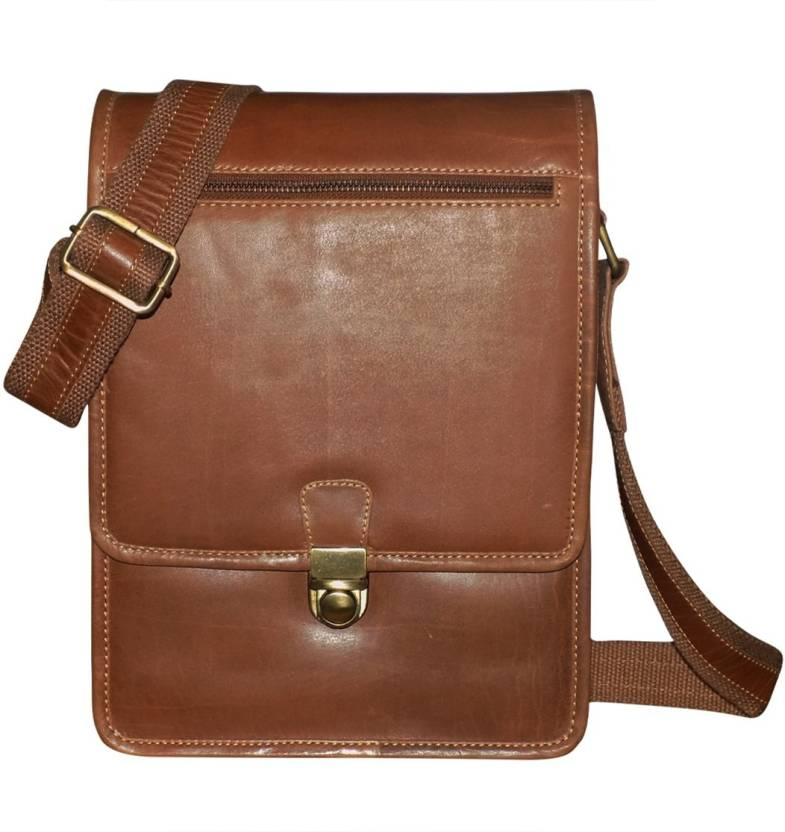 Style 98 Men Casual Brown Genuine Leather Messenger Bag Brown - Price in  India  5a095a46d5231