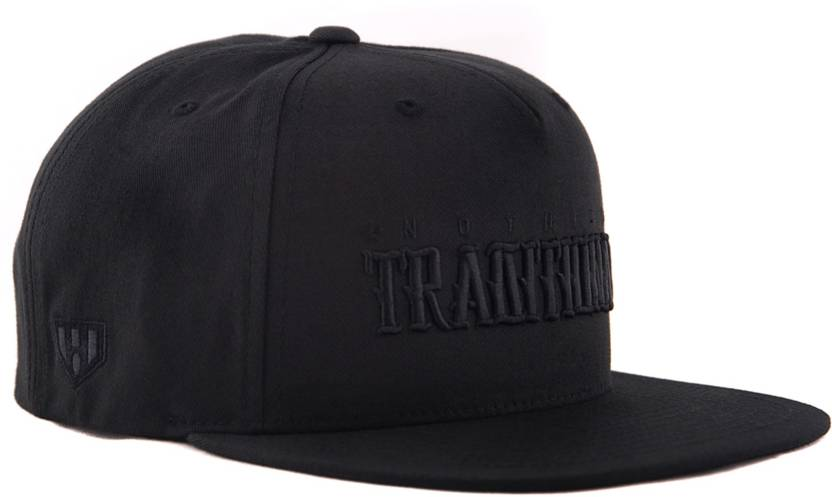 c7e23e846f5 HAUL APPAREL NOTHING TRADITIONAL 3D EMBROIDED BLACK SNAPBACK Cap - Buy HAUL  APPAREL NOTHING TRADITIONAL 3D EMBROIDED BLACK SNAPBACK Cap Online at Best  ...