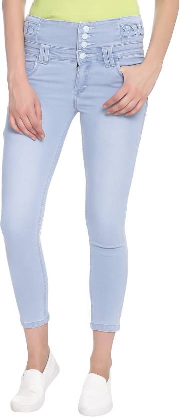 Broadstar Skinny Women Light Blue Jeans Online At Best Prices In India Flipkart