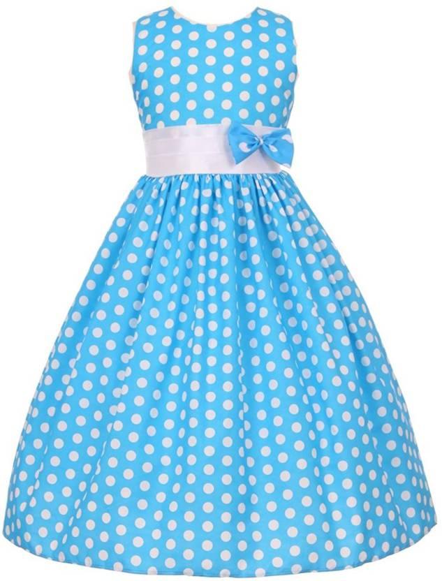 88ce83aa8e Fairy Dolls Girls Midi/Knee Length Party Dress Price in India - Buy ...