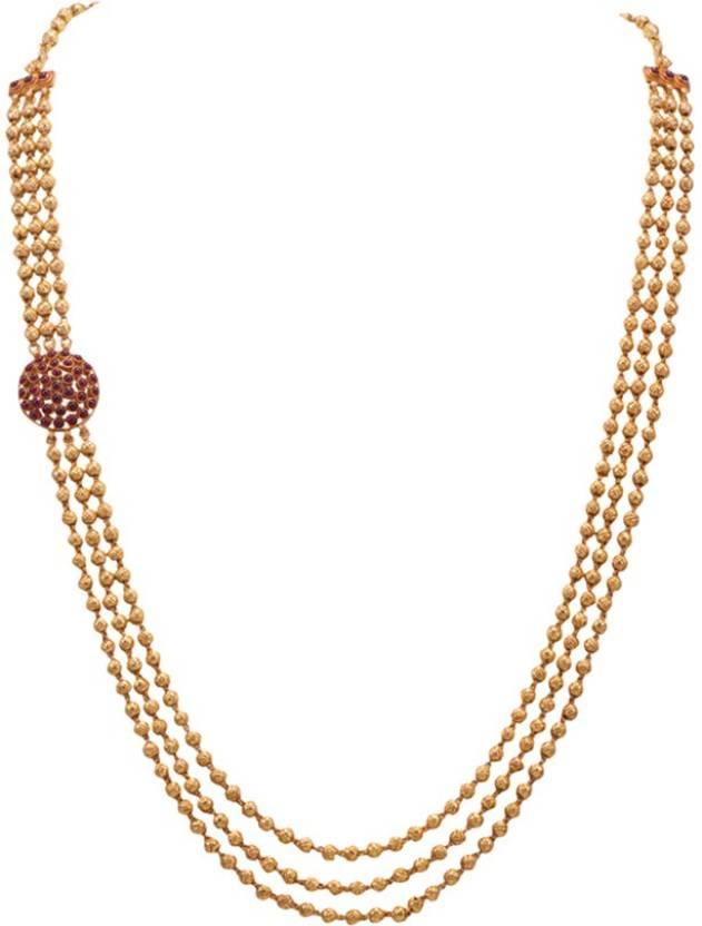 Joyalukkas BN14079989 Choker Yellow Gold Precious Necklace Price ...