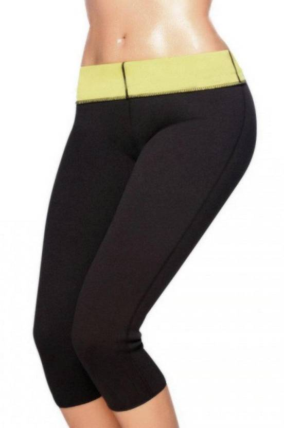 1817dd4a63 jainathbabaenterprises Hot shapers L fitness Pant Slimming Belt (Black)