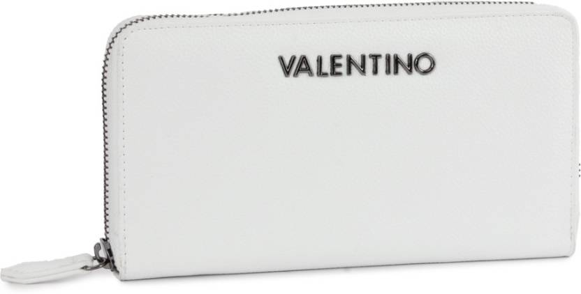 8ce295af8b MARIO VALENTINO Women Casual White Genuine Leather Wallet (12 Card Slots)