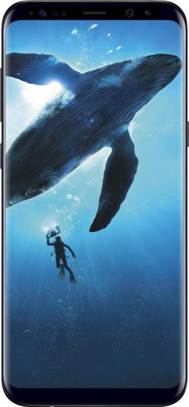 Samsung Galaxy S8 Plus (Midnight Black, 128 GB)